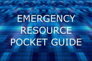 Emergency Resource Pocket Guide