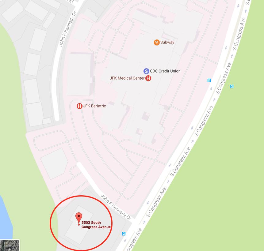 JFK Classroom Location