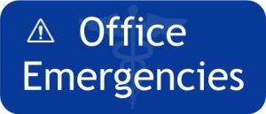 Office Emergencies Button Slim